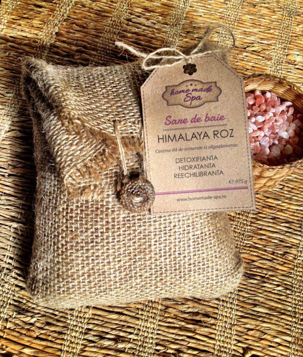 sare de Himalaya homemade spa